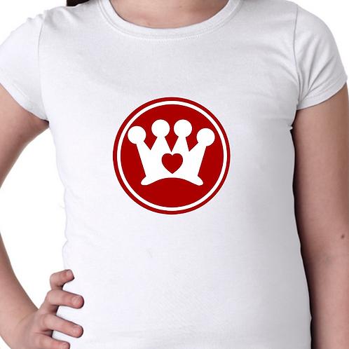 Crown CARES screen print Tee Shirt