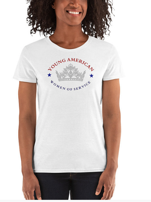 AWOS YAWOS Rhinestone Tee Shirt