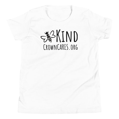 Be Kind Youth Short Sleeve T-Shirt black logo