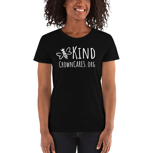 Kind Women's short sleeve t-shirt white logo