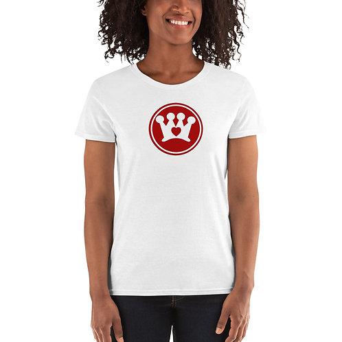 Crown CARES logo Women's short sleeve t-shirt