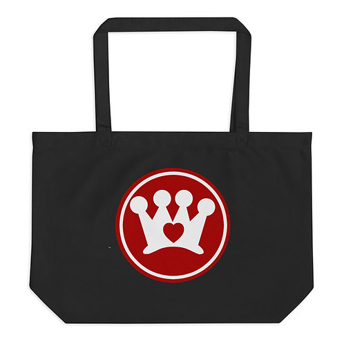 Crown CARES Large organic tote bag