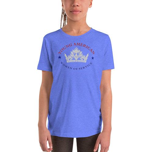 YAWOS Short Sleeve T-Shirt logo