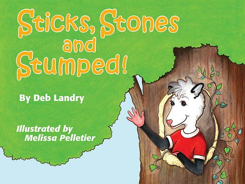 Sticks Stones and Stumped Children's Book
