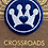 Thumbnail: Royal Blue Crown CARES embroidered patch