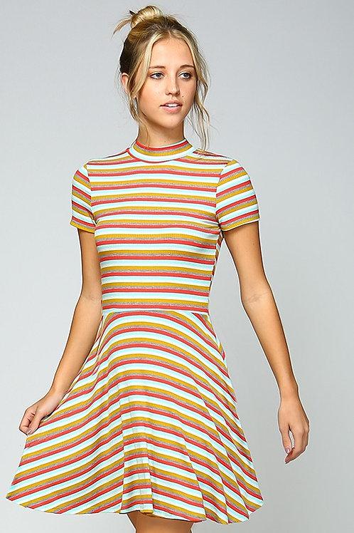 Vintage Inspired Fit & Flare Dress
