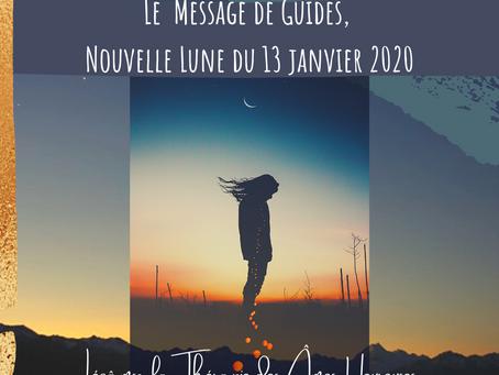 Nouvelle Lune du 13 janvier 2021 - Le Message des Guides
