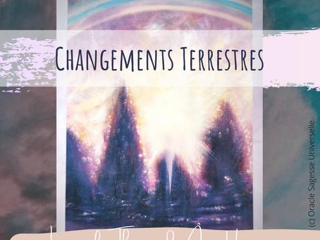 CHANGEMENTS TERRESTRES