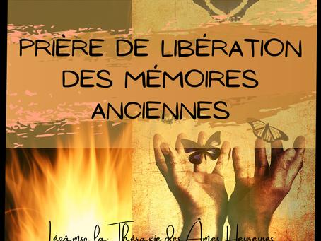 Décret offert : PRIÈRE EN NOS CŒURS ET LIBÉRATION DES MÉMOIRES ANCESTRALES