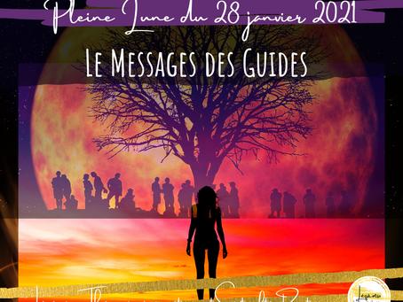 Pleine Lune du 28 janvier 2021 - Le Message des Guides