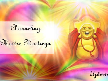 Channeling - Maître Maitreya Une Ode à la JOIE