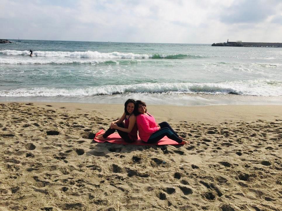 Yoga teacher (Charlotte) & Reiki Master (Theresa) - mum & daughter