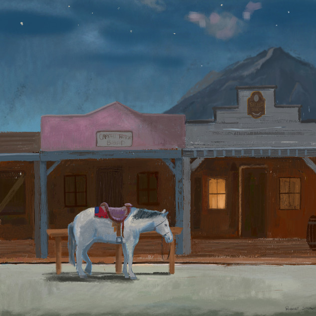 The Lone Horse