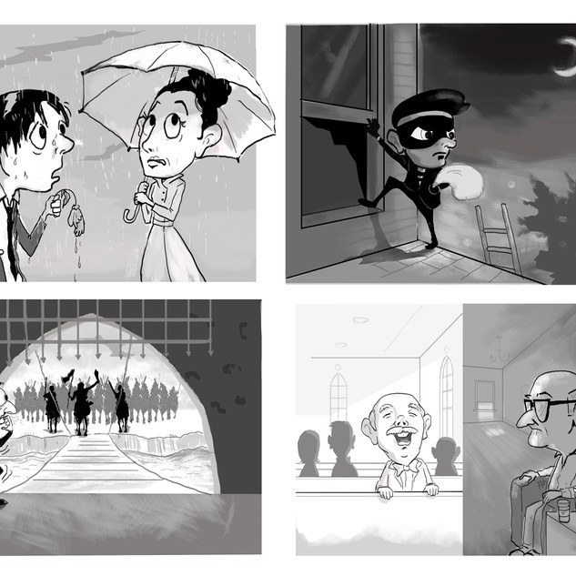 Illustrations for a book