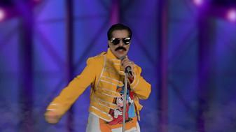 Mina Mercury as Freddie Mercury