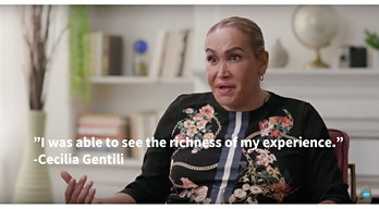 Highly respected Transgender activist & actress, Cecilia Gentili form the cst of POSE