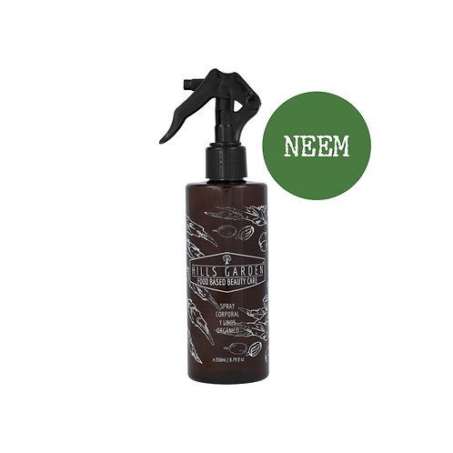 Spray Neem Verbena 250ml / Neem Verbena Linen & Body Mist