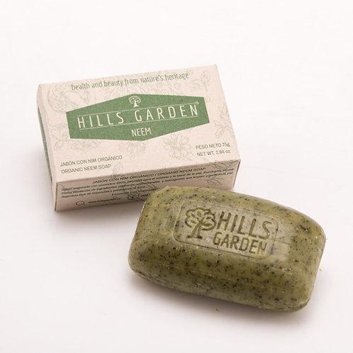 Jabón Neem  75gr / Organic Neem Soap