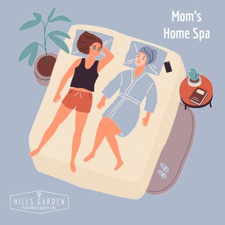 Spa Ideal con Mamá en Casa