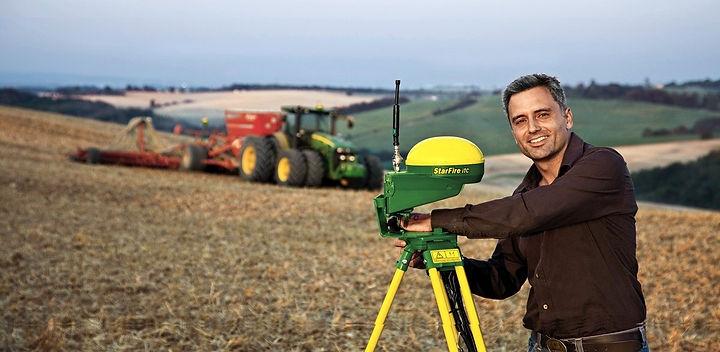 Системи точного землеробства John Deere AMS