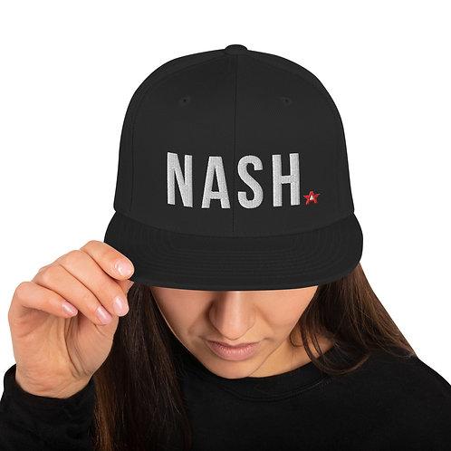 """Nash"" Nashville Songwriter Snapback Hat"