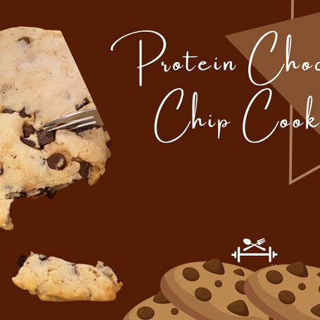 Protein and chocolate chip cookies in the same bite? Yes please!!