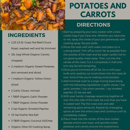 Pot Roast with Sweet Potatoes