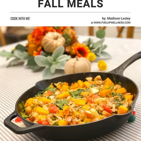 A week of deliciously healthy Fall Meals-Cook with me!
