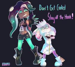 Marina and Pearl transparent