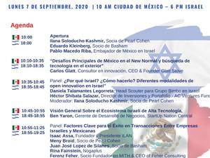 (ES) Webinar: Innovación Israelí en México