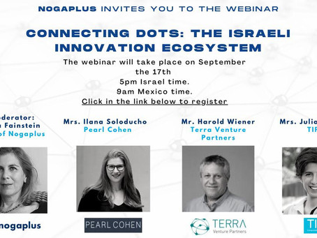 (EN) Webinar: Connecting Dots in the Israeli innovation ecosystem