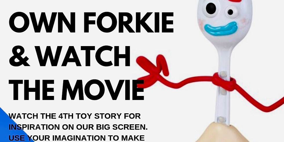 Watch Toy Story 4 & Make Your Own Forky