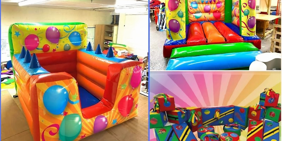 Sensory Soft Play with Bouncy Castle