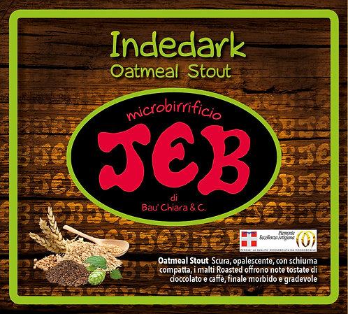 Indedark Oatmeal Stout alc. vol. 5.4% 50cl