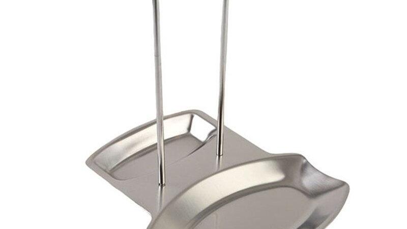 Stainless Steel Lid Rack, Spoon Rest, Kitchen Storage Organizer, Lid Stand