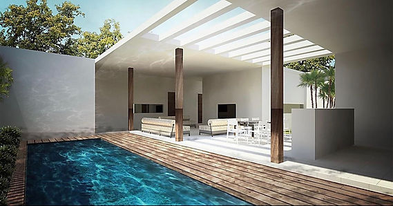 Pool Interior Stella Villa Acasa Souther