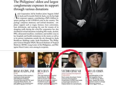 Tatler Philippines recognized VCDC