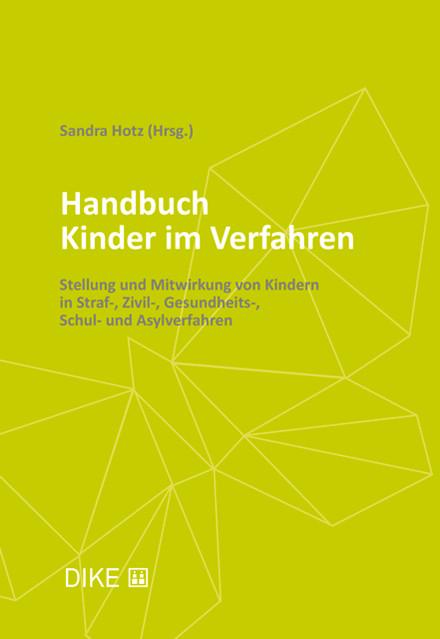 Cover Handbuch Kinder im Verfahren, DIKE Verlag
