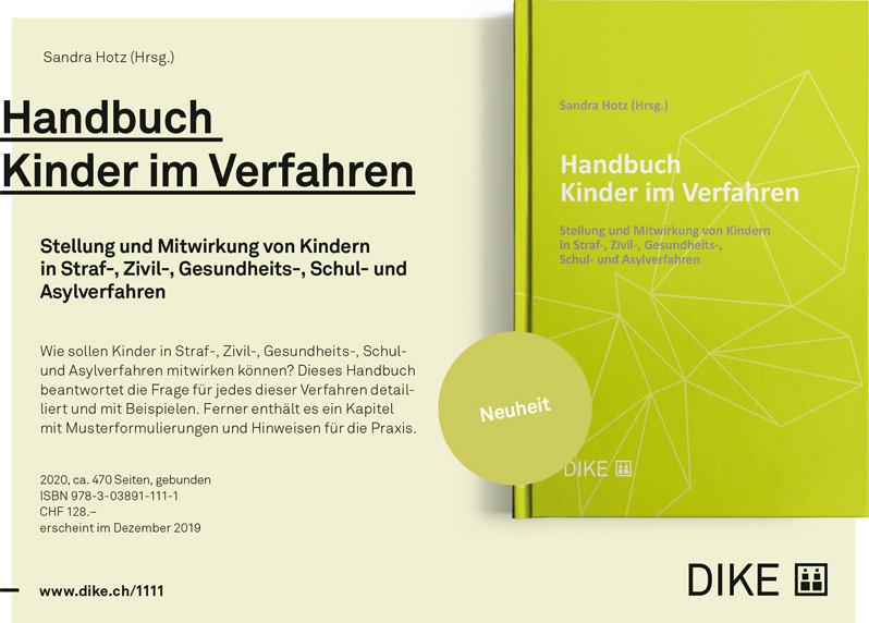 Cover Handbuch Kinder im Verfahren