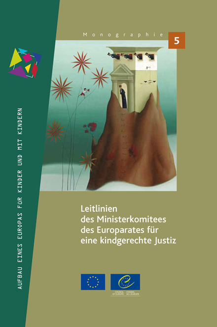 Cover Europarat: LeitlinienChild-friendly Justice