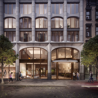 New York, Amsterdam Avenue, Issac & Stern Architects