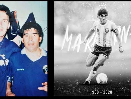 A murit Diego Armando MARADONA | Cupa Mihai Ivăncescu