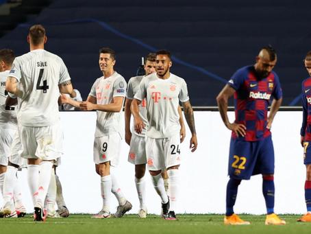 Barcelona – Bayern Munchen 2-8 | Barca umilită la Lisabona, în sferturile Ligii Campionilor