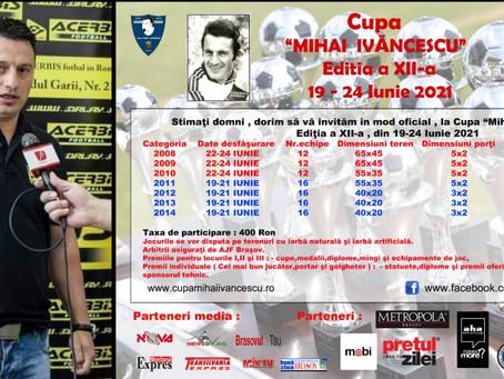 START ÎNSCRIERI | Cupa Mihai Ivăncescu | 19-24 Iunie 2021
