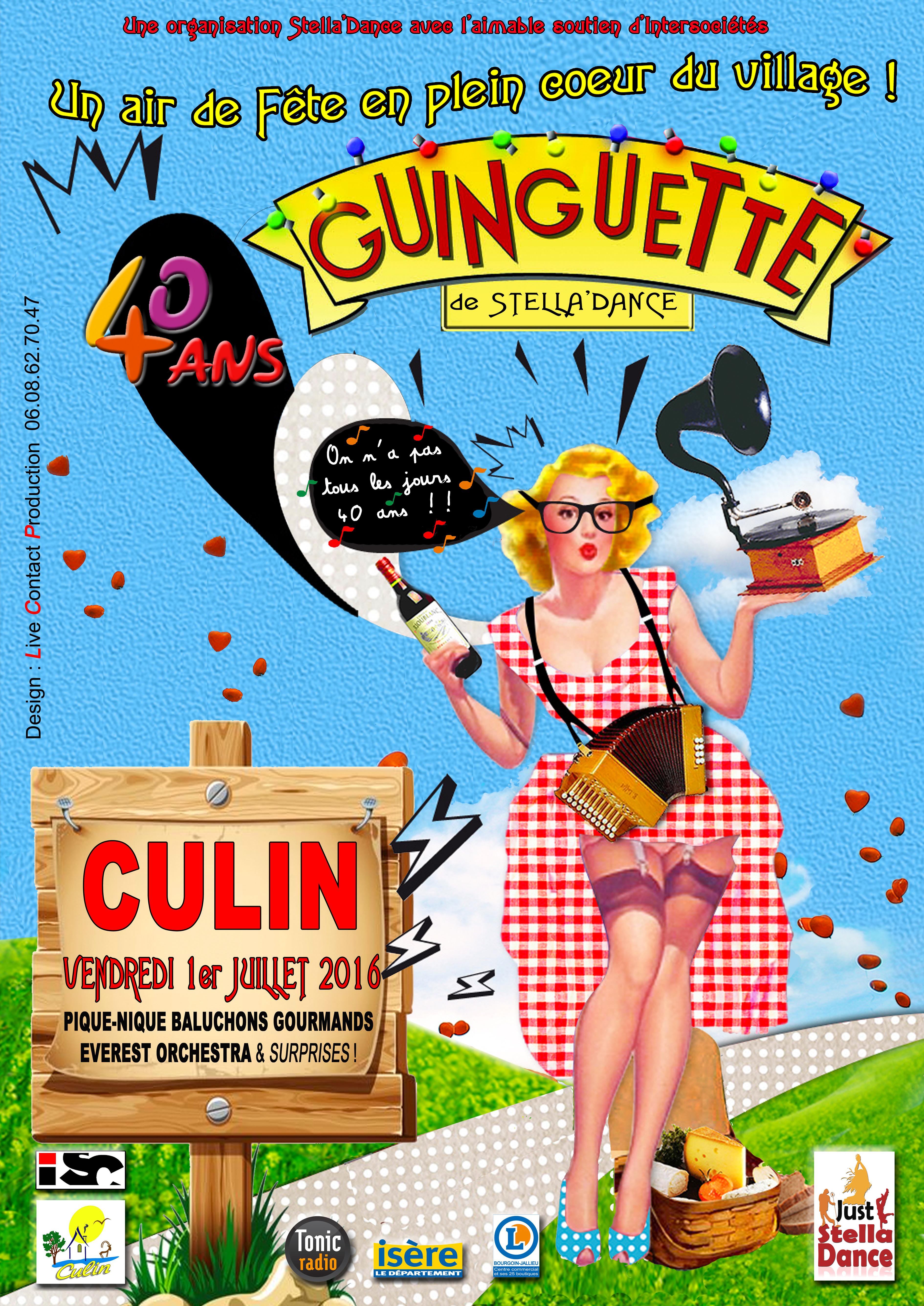 affiche guinguette
