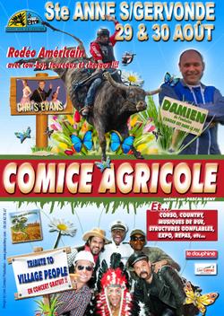 affiche COMICE STE ANNE