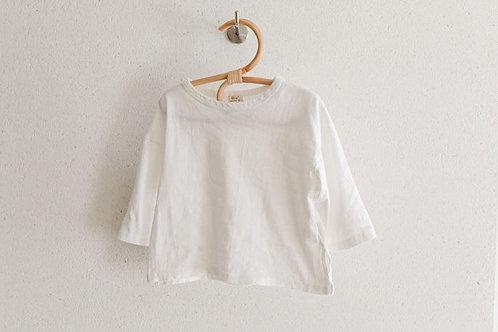 Oversized T shirt - Ivory