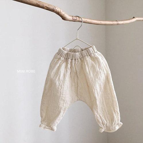 Muslin Harem Pants - Dot
