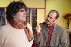 L-Robby Martin AS Christopher Wren ,            R-Adam Curtis AS Sgt. Trotter