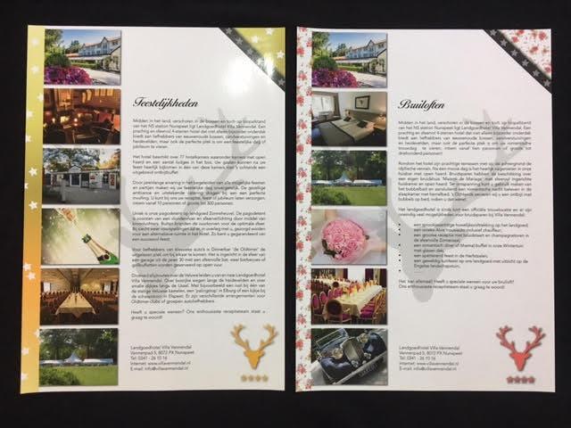 Villa Vennendal Leaflets
